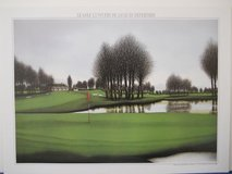 """Golf"" lithograph print UF, 19x26, EX in Alamogordo, New Mexico"