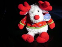 Early Christmas -- Poseable Reindeer Toy - New With Tag in Houston, Texas