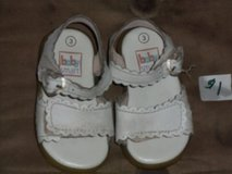 Infant/Toddler Size 3 sandals in Naperville, Illinois