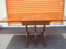 Mahogany Drop Leaf Extension Table in Camp Lejeune, North Carolina