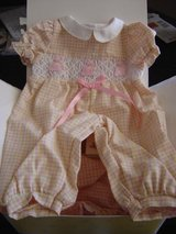 New Bitty Baby American Girl Bows & Bunnies Romper in Manhattan, Kansas