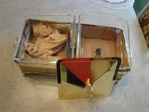 two bin goldplated food server/warmer in Conroe, Texas