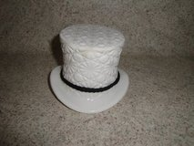 milk glass durby hat in Tomball, Texas