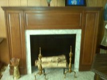vintage Delmonico 1969 stereo fake fireplace in Cherry Point, North Carolina