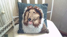 collie pillow 12 x 12 in Cherry Point, North Carolina